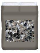 Black Diamonds Duvet Cover