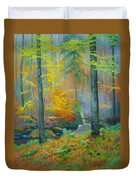 Black Forest Stream Duvet Cover
