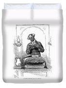 Black Preacher, 1890 Duvet Cover