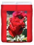 Black Rose Red Duvet Cover