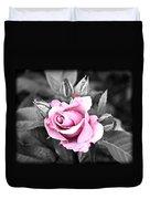 Black Rose Duvet Cover