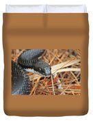 Black Snake Duvet Cover