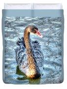 Black Swan Event Duvet Cover