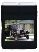 Black T Duvet Cover