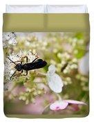Black Wasp 2 Duvet Cover