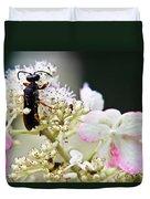 Black Wasp 3 Duvet Cover