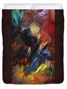 Blackbird Rainbow Blitz Duvet Cover