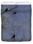 Blackbirds Duvet Cover