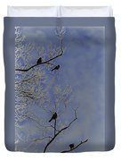 Blackbirds Duvet Cover
