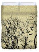 Blackbirds Roost Duvet Cover