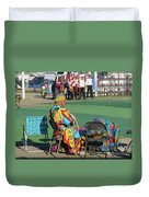Blackfeet Pow Wow 02 Duvet Cover