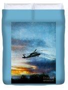 Blackhawk Helicopter Duvet Cover