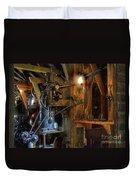 Blacksmith Workshop Duvet Cover
