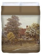 Blake's House Hampstead Heath Duvet Cover