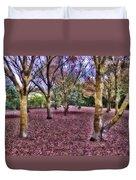 Blanket Of Leaves Duvet Cover