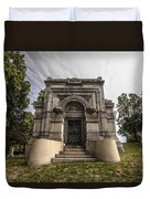 Blatz Family Mausoleum Duvet Cover