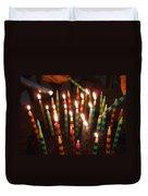 Blazing Amazing Birthday Candles Duvet Cover