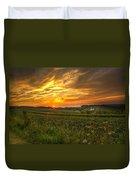 Blazing Countryside Duvet Cover