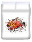 Bleeding Petals  Duvet Cover