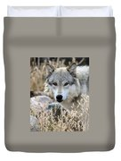 Blending Wolf  Duvet Cover