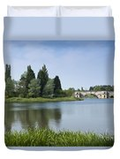Blenheim Palace's Lake Duvet Cover