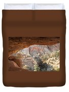 Blind Arch Overlook Duvet Cover