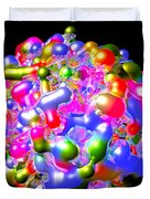 Blob Of Color... Duvet Cover