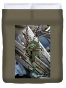 Block And Tackle Duvet Cover