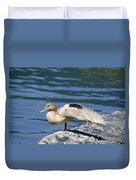 Blonde Duck Duvet Cover