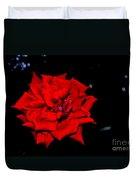 Blood Rose Duvet Cover