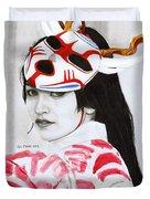 Bloodmoon Akali Duvet Cover