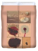 Bloodstain, Blisters, Bullet Holes, 1864 Duvet Cover by Science Source