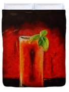 Bloody Mary Coctail Duvet Cover