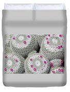 Blooming Cactus Duvet Cover