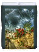 Blooming Village Duvet Cover