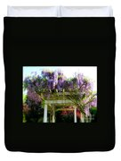 Blooming Wisteria  Duvet Cover