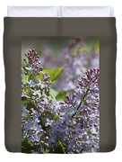 Blossoming Hyacinthiflora Lilacs Duvet Cover
