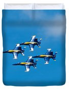 Blue Angels 4 Duvet Cover
