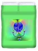 Blue Apples  Duvet Cover