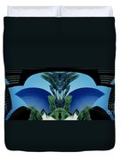 Blue Arches Duvet Cover