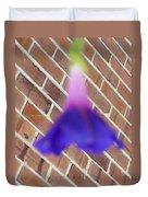 Blue Ballerina Duvet Cover