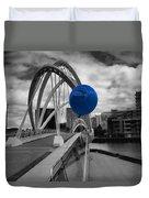 Blue Balloon Duvet Cover