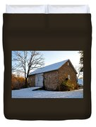 Blue Bell Barn Duvet Cover