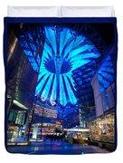 Blue Berlin Duvet Cover