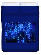 Blue Big Bang Duvet Cover