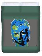 Blue Buddha  Duvet Cover