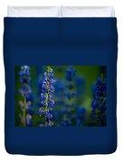 Blue Bunny Duvet Cover