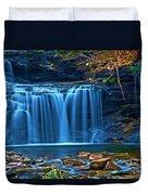 Blue Cascades Duvet Cover