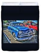 Blue Classic Hdr Duvet Cover
