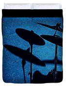 Blue Cymbalism  Duvet Cover